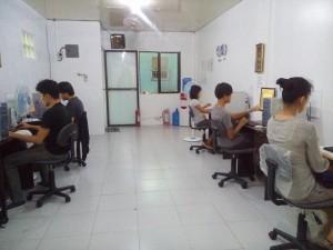 Typing team